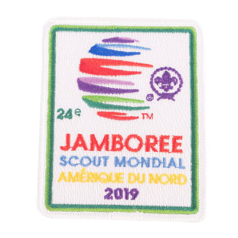 WJ19 Souvenir Patch French