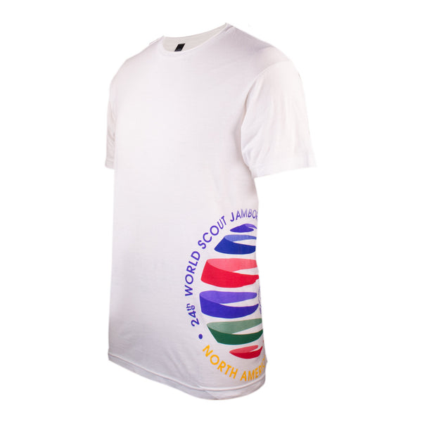 WJ19 SHORT SLEEVED CREST WRAP TEE