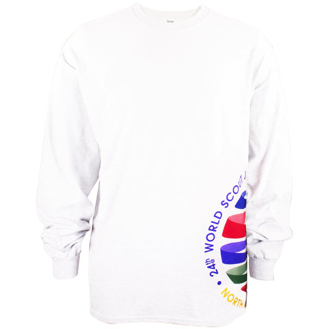 WJ19 Long Sleeve Crest Wrap Tee