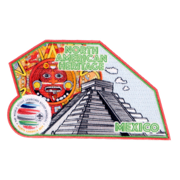 WJ19 North American Heritage Patch - Mexico