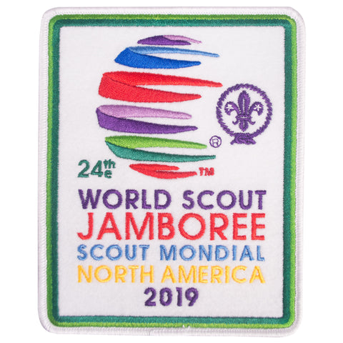 WJ19  JUMBO Souvenir Patch
