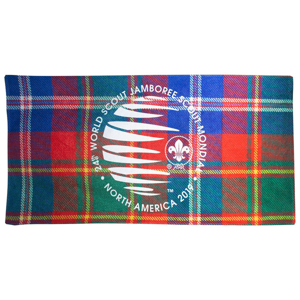 Friendship Tartan Beach Towel