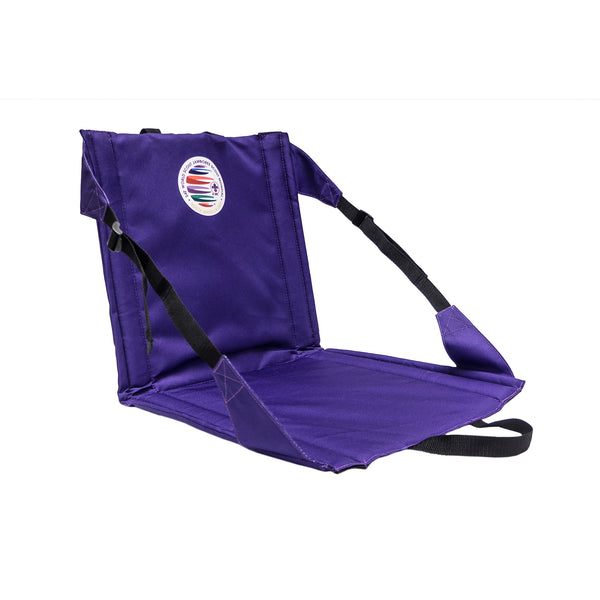 WJ19 Folding Stadium Seat with WSJ Logo