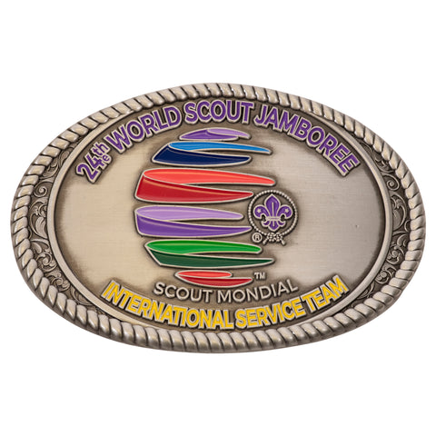 WJ19 International Service Team Belt Buckle