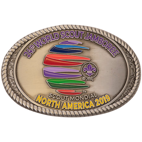 WJ19 Particpant Belt Buckle