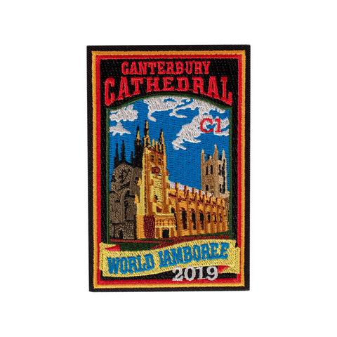 WJ19 Subcamp Series Patch - Canterbury Cathedral