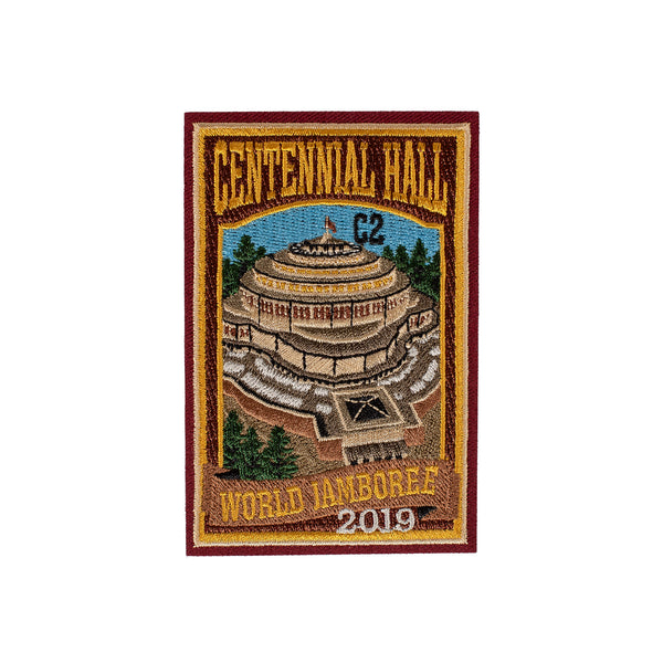 WJ19 Subcamp Series Patch - Centennial Hall