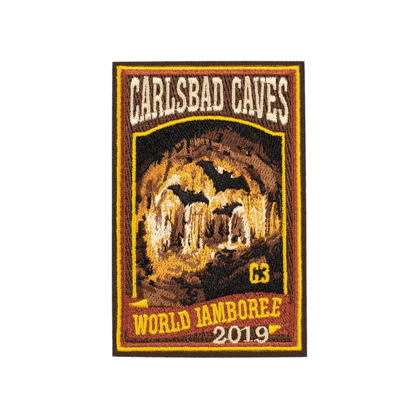 WJ19 Subcamp Series Patch - Carlsbad Caves