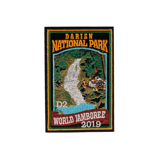 WJ19 Subcamp Series Patch - Darien National Park