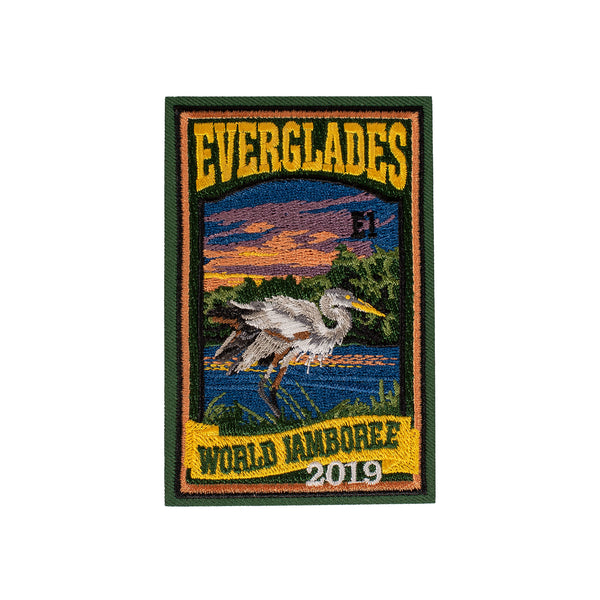 WJ19 Subcamp Series Patch - Everglades