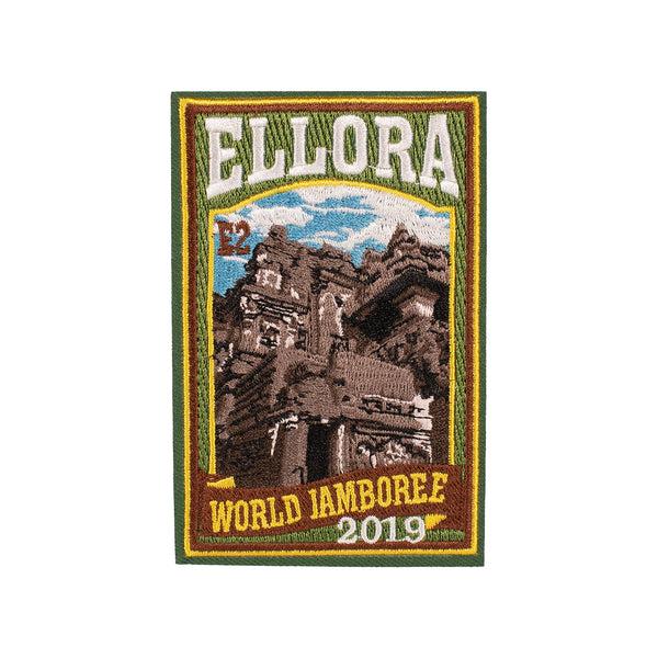 WJ19 Subcamp Series Patch - Ellora