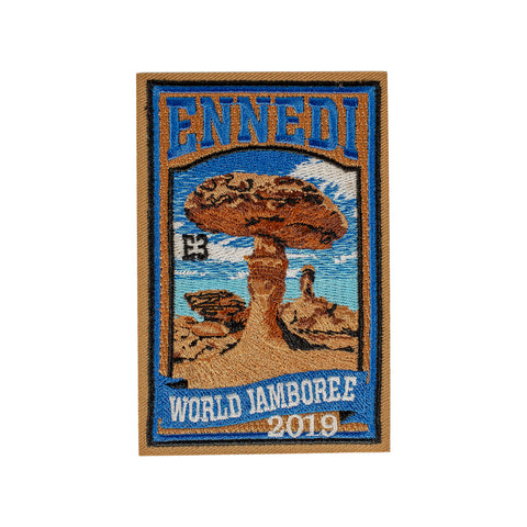 WJ19 Subcamp Series Patch - Ennedi