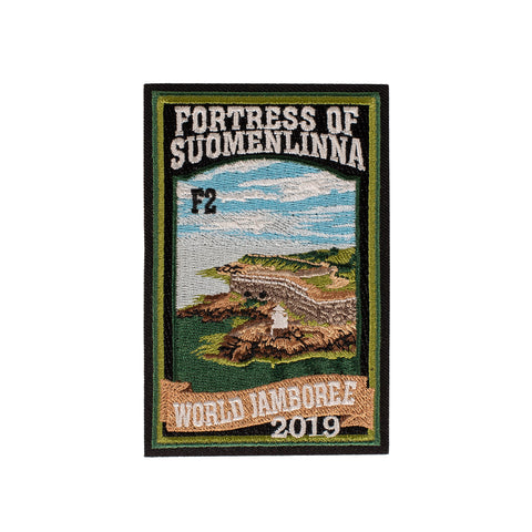 WJ19 Subcamp Series Patch - Fortress of Suomenlin