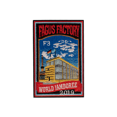 WJ19 Subcamp Series Patch - Fagus Factory - Ghost Camp