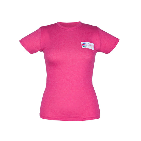 Summit Map Short Sleeved Tee for Ladies