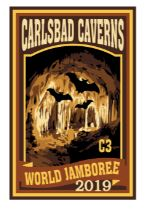 WJ19 Subcamp Series Patch Carlsbad Caverns