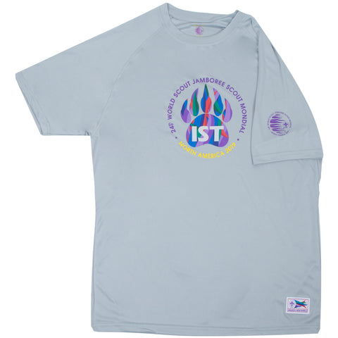 WJ19 IST Tech Tee Large Logo