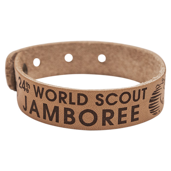 WJ19 Adjustable Leather Bracelet