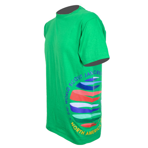 WJ19 Short Sleeve Crest Wrap Tee