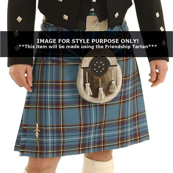 Casual Machined Kilt