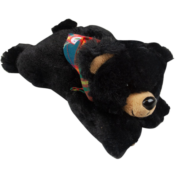WJ19 Black Bear w/Friendship Tartan Necker