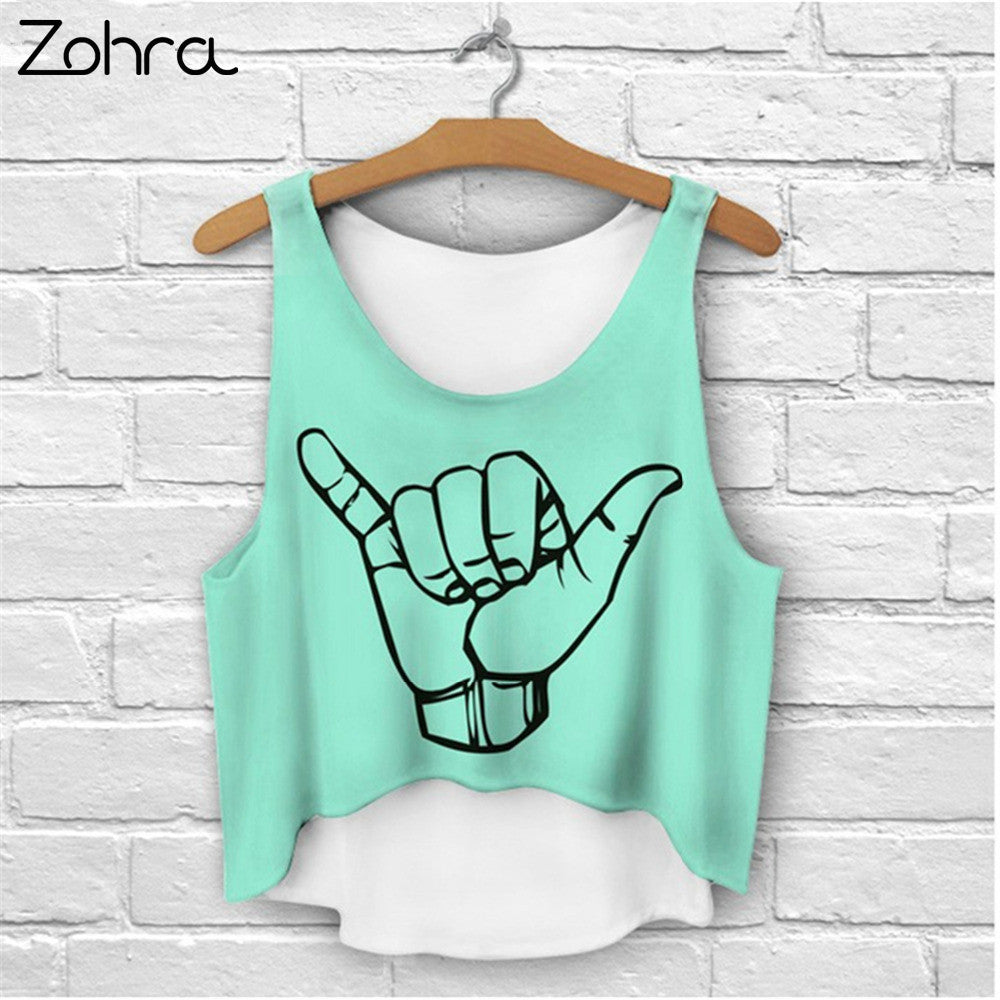 Zohra Crop Top