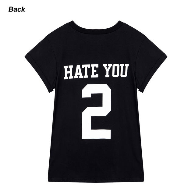HATE YOU 2 Cozy T-Shirt