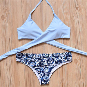 New Brazilian Cross Push Up Bikini