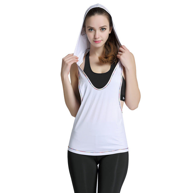ZAFUL Yoga Sleeveless Hoodie