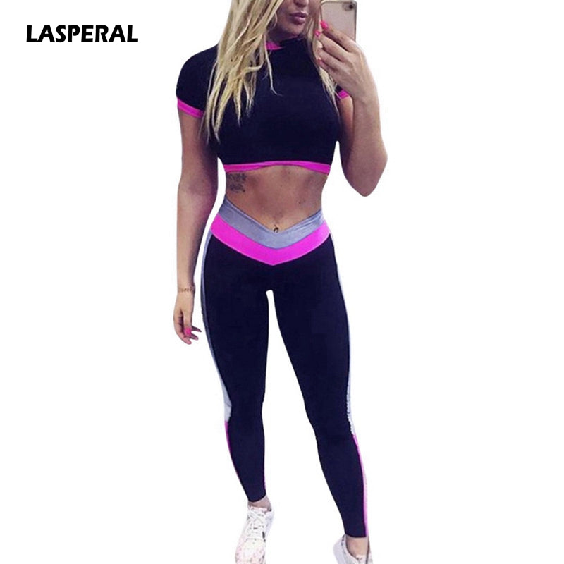 Lasperal Two Piece Running Suit