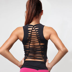 A4Y Hollow Back Yoga Tank