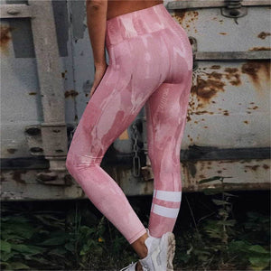 ZAFUL Pink Sports Bra and Leggings - Set