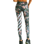 A4Y Floral Printed Yoga Leggings