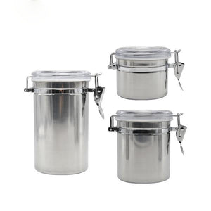 Airtight Stainless Steel Stash Pots