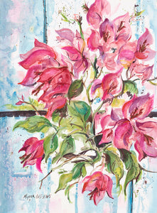 """Bougainvillea"" Giclee by Carole Myers"