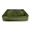 olive green citadel dog bed