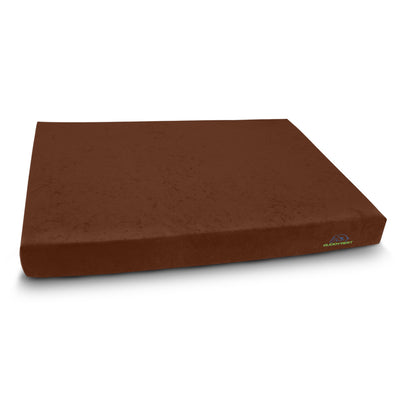 Comfort Deluxe Memory Foam Dog Bed - Dark Chocolate