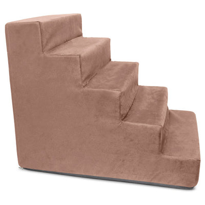 BuddyRest Smart Suede Luxury Dog Stairs