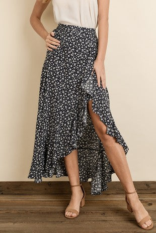 Star Flower Maxi Skirt - Emma and Evey