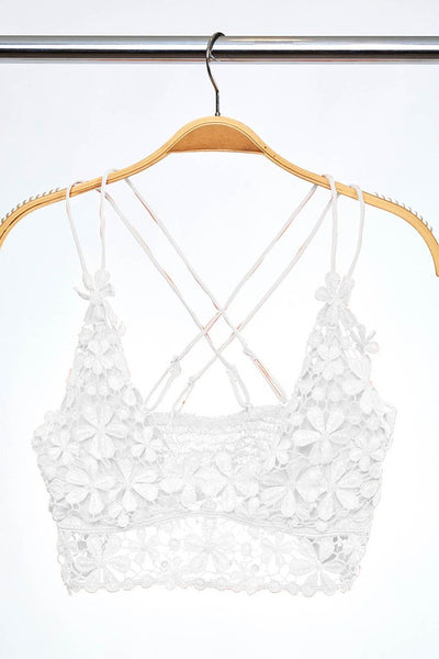 Flower Child Bralette - The Peacefull Closet