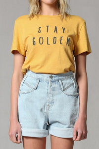 Stay Golden T-Shirt - The Peacefull Closet