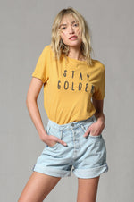 Stay Golden T-Shirt - Emma and Evey