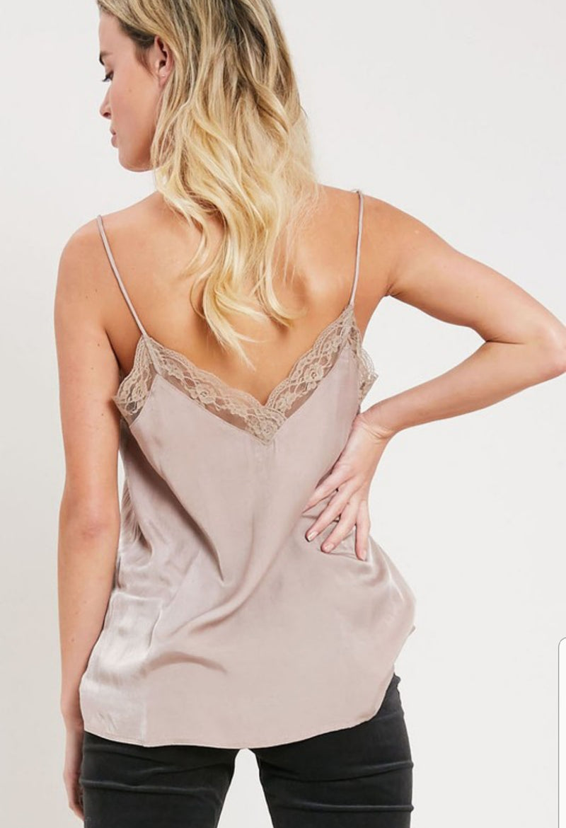 Sweet Lace Cami Tank Top - Emma and Evey