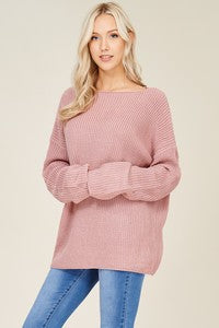 Pretty in Pink- Breast Cancer Awareness Sweater - Emma and Evey