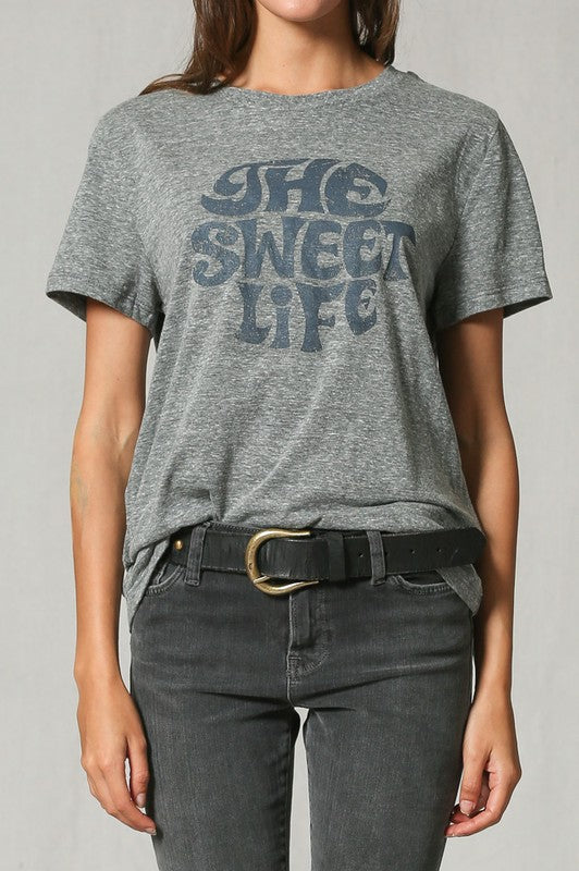 The Sweet Life T-Shirt - Emma and Evey
