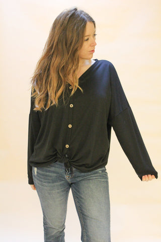 Buttoned Up Long Sleeve - The Peacefull Closet