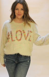 #LOVE Sweater - The Peacefull Closet