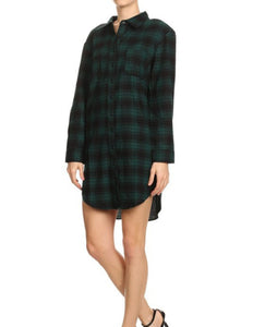 Plaid with me- dress - The Peacefull Closet