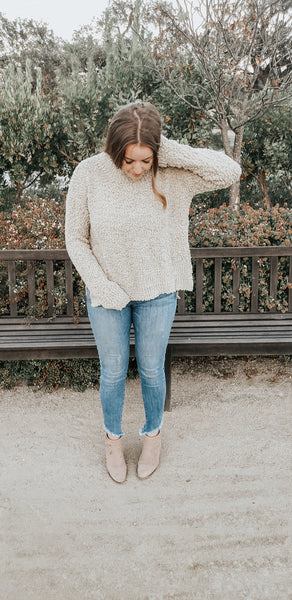 Popcorn Sweater - The Peacefull Closet