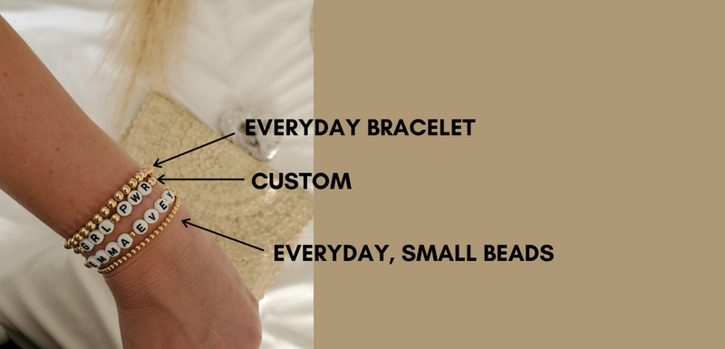 Everyday Bracelet - Emma and Evey